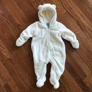 Gap Infant Sherpa off White Bunting 6-12M